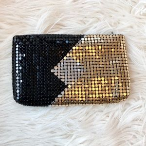 Vintage Funky 70's Style Metallic Clutch
